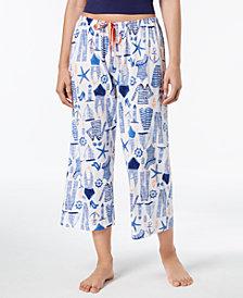 HUE® Printed Capri Pajama Pants