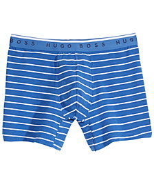Hugo Boss Men's Striped Stretch Boxer Briefs
