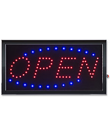 Open Lighted Neon Electric Display Sign with Animation & Energy Efficient LED