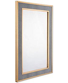 Zuo Pavia Gray-Framed Mirror