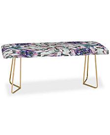 Deny Designs Ginette Fine Art Winter Wonderland Bench