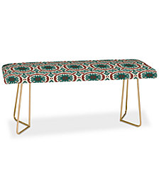Deny Designs Holli Zollinger Madeira Sun Tile Bench