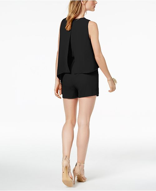 Romper Bar for Created Macy's III Asymmetrical Black aqxwRq