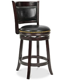 Anika Counter Stool, Quick Ship