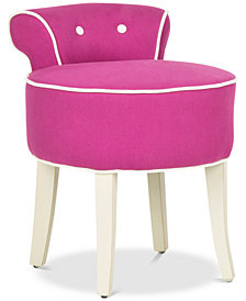 Bonilla Vanity Stool, Quick Ship