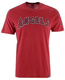 '47 Brand Men's Los Angeles Angels Fieldhouse Basic T-Shirt