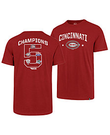 '47 Brand Men's Cincinnati Reds Coop MVP Collection T-Shirt