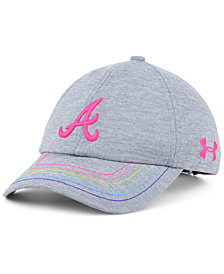 Under Armour Girls' Atlanta Braves Renegade Twist Cap