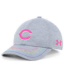 Under Armour Girls' Cincinnati Reds Renegade Twist Cap