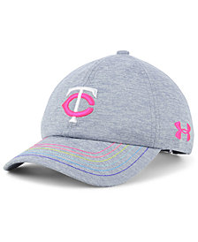 Under Armour Girls' Minnesota Twins Renegade Twist Cap