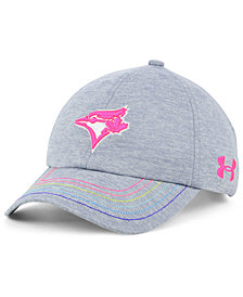 Under Armour Girls' Toronto Blue Jays Renegade Twist Cap
