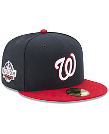 New Era Washington Nationals 2018 Washington All Star Game Patch 59Fifty Fitted Cap
