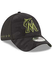 New Era Miami Marlins Memorial Day 39THIRTY Cap