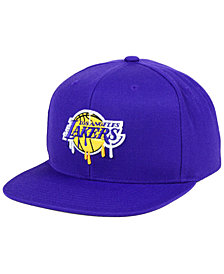 Mitchell & Ness Los Angeles Lakers Dripped Snapback Cap