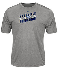 Majestic Men's Nashville Predators Drop Pass T-Shirt