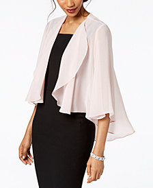 Alex Evenings Draped Jacket