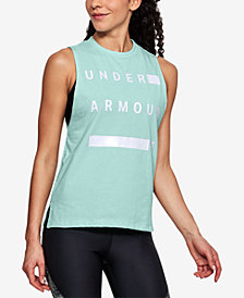 Under Armour Charged Cotton® Sleeveless T-Shirt