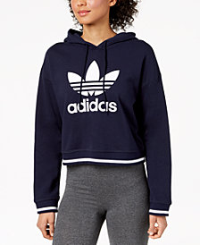 adidas Originals Active Icons Cropped Hoodie