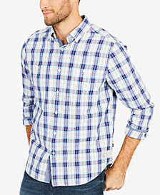 Nautica Men's Crystal Bay Plaid Shirt