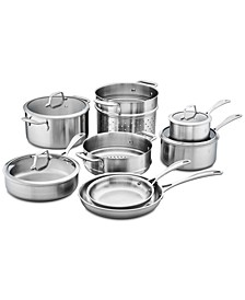Zwilling Spirit Stainless Steel 12-Pc. Cookware Set