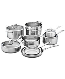 Zwilling J.A. Henckels Spirit Stainless Steel 12-Pc. Cookware Set