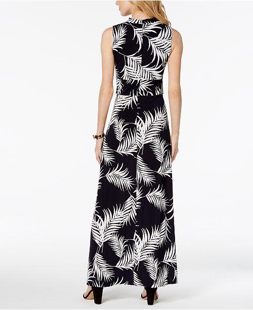 4014216fba3c Jessica Howard Petite Twist-Front Maxi Dress & Reviews - Dresses ...