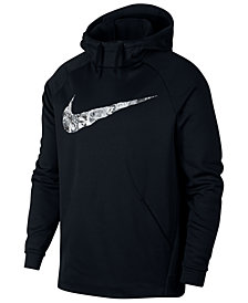 Nike Men's Therma Collage-Logo Hoodie