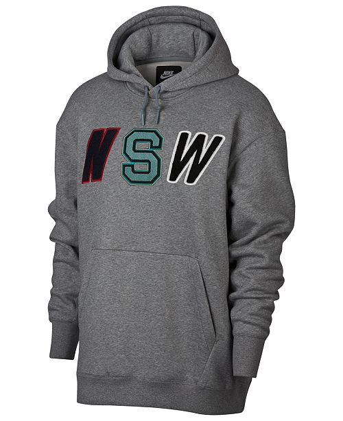 Nike Men's Sportswear Varsity Fleece Hoodie & Reviews