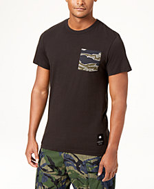 G-Star RAW Men's Camo Pocket T-Shirt, Created for Macy's