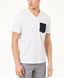 A|X Armani Exchange Men's Pima Cotton Slim Fit Pocket T-Shirt