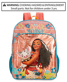 Disney Little & Big Girls Moana Backpack