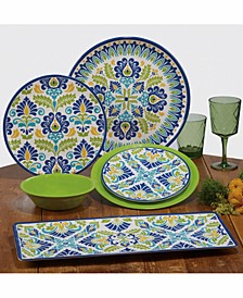 Martinique Melamine Dinnerware