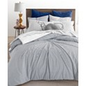 Whim by Martha Stewart 3-Piece Knot Stripe Comforter Set