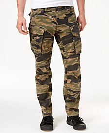 G-Star RAW Men's Denim Tiger 3D Straight Tapered Cargo Pants