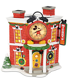 Department 56 Villages Disney Mickey's Alarm Clock Shop