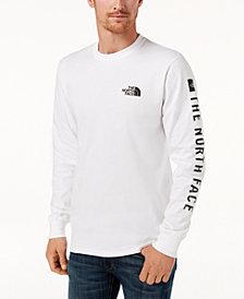 The North Face Men's Logo Long-Sleeve T-Shirt