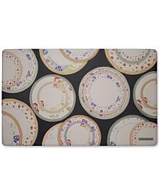 "Laura Ashley Tea Plates Anti-Fatigue Gelness 20"" x 32"" Kitchen Mat"
