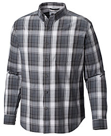 Columbia Men's Big Long-Sleeve Plaid Shirt