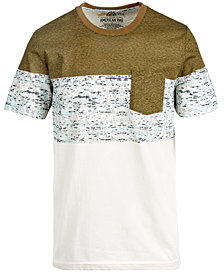 American Rag Men's Colorblocked Pocket T-Shirt, Created for Macy's