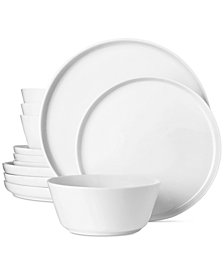 The Cellar Modern Coupe 12-Pc. Dinnerware Set  sc 1 st  Macyu0027s & Modern Dinnerware - Macyu0027s