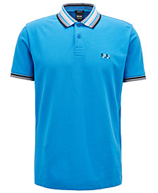 BOSS Men's Regular/Classic-Fit Cotton Piqué Polo Shirt