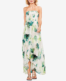Vince Camuto Strapless Maxi Dress