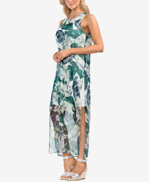 Vince Camuto Printed Maxi Dress 6382540