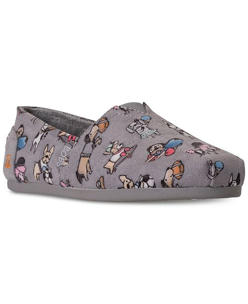 77e5f11d58b ... Skechers Women rsquo s Bobs Plush - Sporty Dogs Bobs for Dogs Casual  Slip-On ...