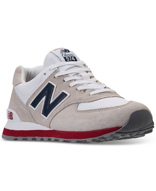 New Balance Men s 574 USA Casual Sneakers from Finish Line - Finish ... 1f06e37cd