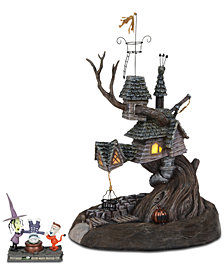 Department 56 Villages Nightmare Before Christmas Lock, Shock & Barrel Treehouse