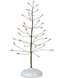 Department 56 Villages Multicolor Winter Brite Tree