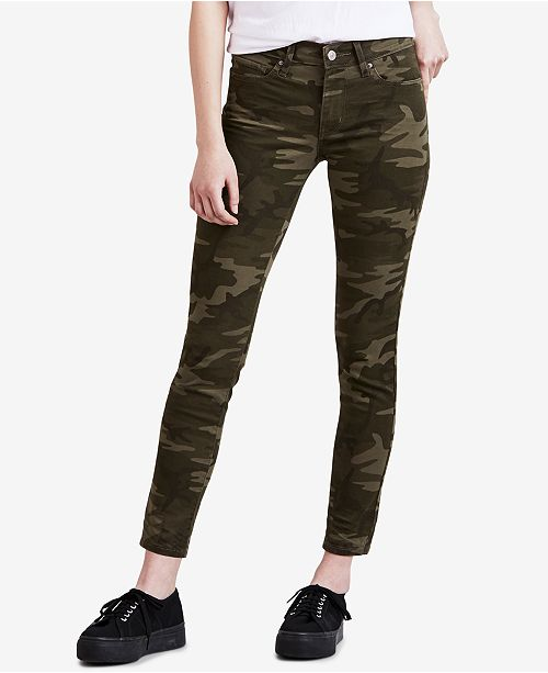good quality 50% off sale usa online Women's 711 Camo-Print Skinny Ankle Jeans