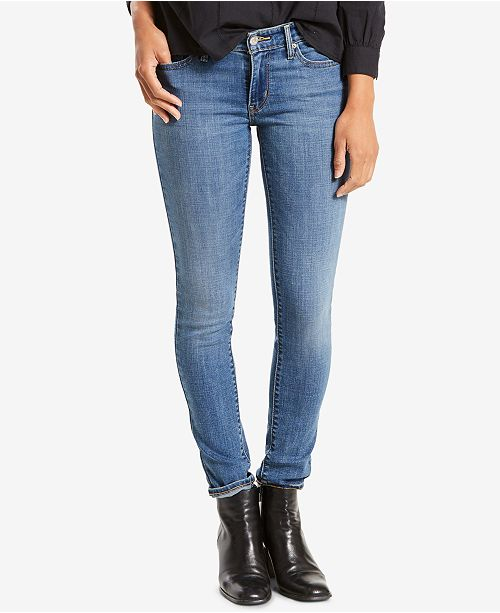 c598fb86fdade Levi s 711 Skinny Jeans   Reviews - Jeans - Women - Macy s