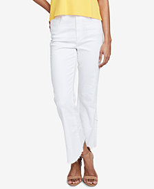 RACHEL Rachel Roy Frayed Ankle Jeans, Created for Macy's